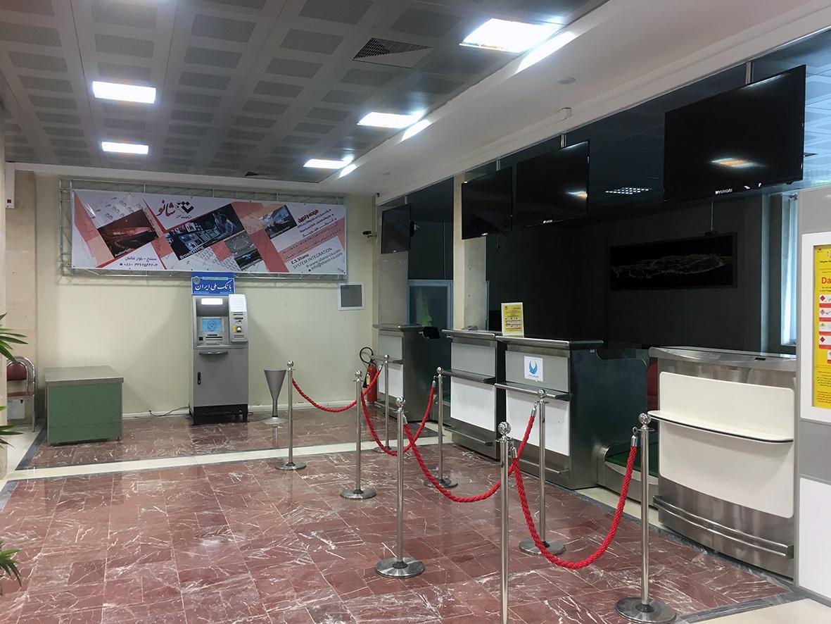 بیلبورد تبلیغاتی جنب کانتر فرودگاه سنندج