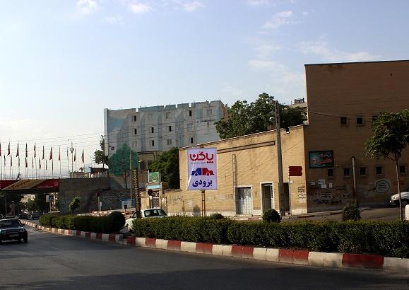 استند فک متحرک بلوار کردستان جلو مسجد ملاویسی